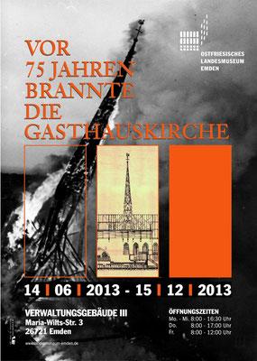Gestaltung Plakat, Ausstellung, Ostfriesisches Landesmuseum Emden