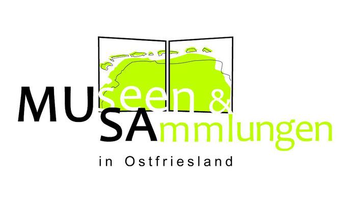Logodesign, Drucksachengestaltung, Museen und Sammlungen in Ostfriesland