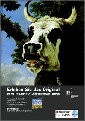 Gestaltung Plakate Ausstellungsreihe Ostfriesisches Landesmuseum Emden