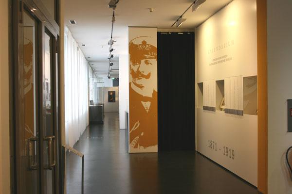 Gestaltung, Redesign 4 Wände und Kalendarium im Ostfriesischen Landesmuseum