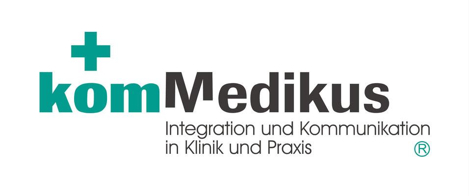 Logodesign, CI, komMedikus®, Integration und Kommunikation in Klinik und Praxis, Hannover
