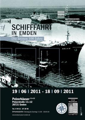 Ausstellungsdesign Drucksachen, Ostfriesisches Landesmuseum Emden