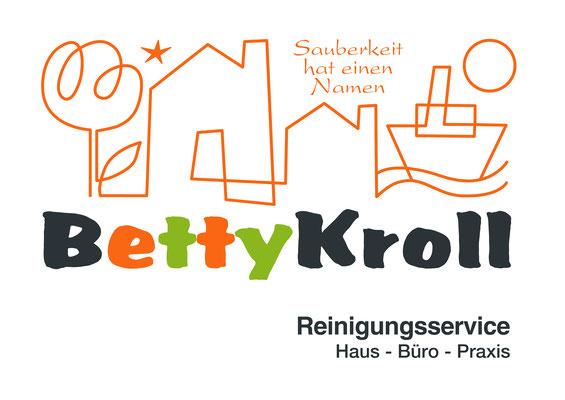 Logodesign, CI, Betty Kroll, Emden