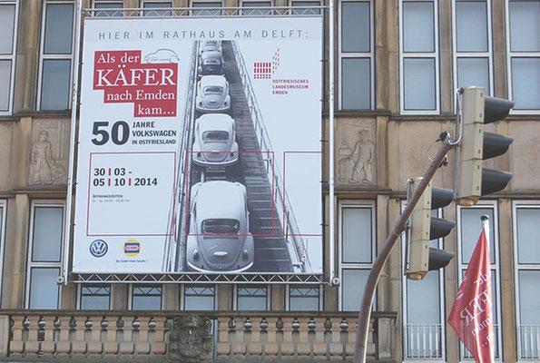 """Grafikdesign, CD, Jubiläumsausstellung """"50 Jahre VW in Emden"""", Ostfriesisches Landesmuseum"""