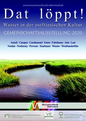 Gestaltung Drucksachen, Gemeinschaftsausstellung 2021, Museumsverbund Ostfriesland