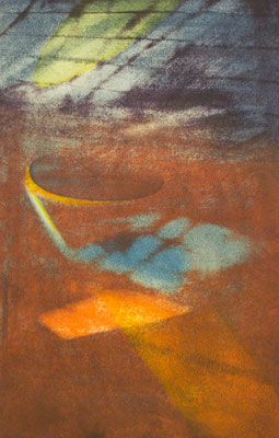 The light for a second #2  41.5×27cm
