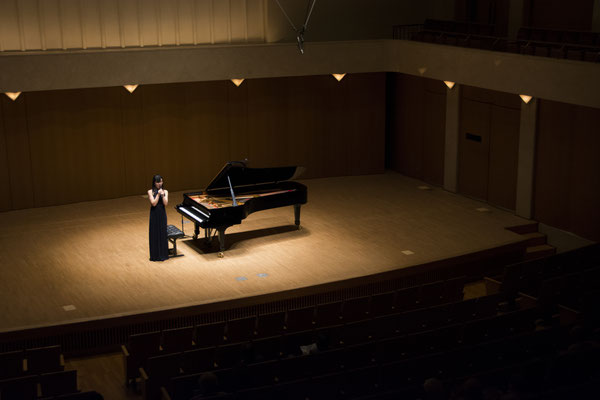Philia Hall recital 23.9.2016 Photo by Suzu Niiyama