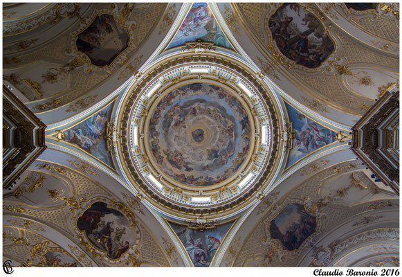 Cattedrale di Bergamo alta   - la cupola -