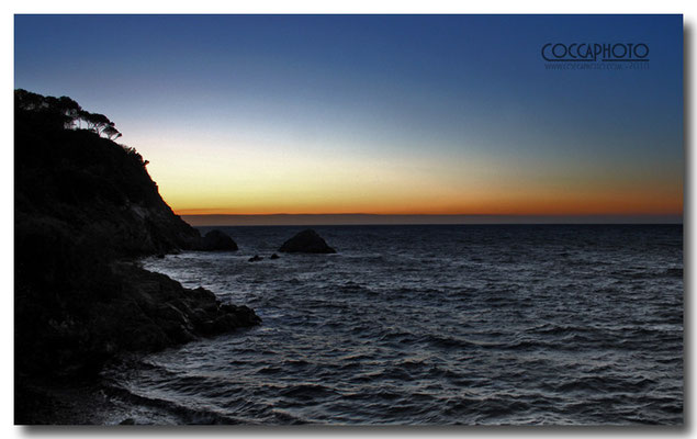 Tramonto isola d'Elba (Luigi Cocca)