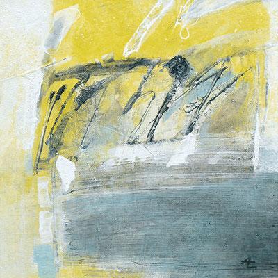 25 x 25 cm, Papier/Holzkörper