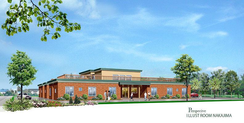 建築パース         福祉施設3