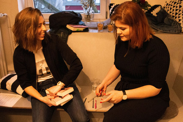 Leseclub mit Sophie Passmann (Autorin) und Maike Mia Höhne (Moderation), Foto: Nico Scagliarini