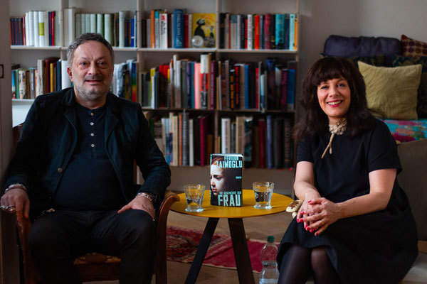 Leseclub mit Feridun Zaimoglu (Autor) und Natascha Geier (Moderation), Foto: Nico Scagliarini