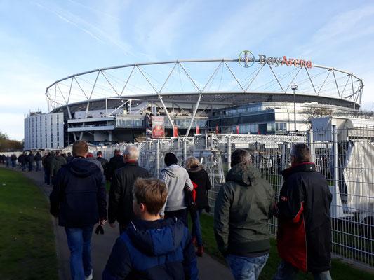 Bayarena, Bayer Leverkusen