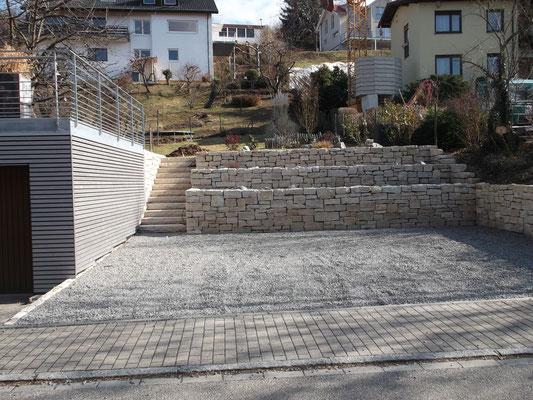 Gut bekannt Mauern und Treppen - Frank Garten und Landschaft BC82