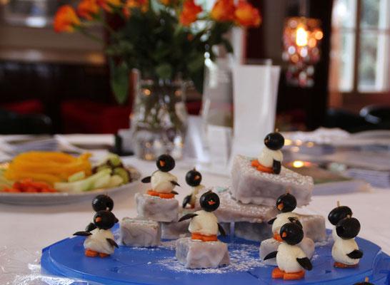die Pingus warten schon