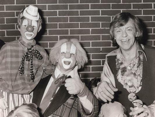 Willem Eggert tijdens de feestweken in Waterland in 1979.