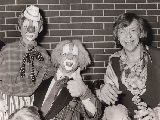 Willem Eggert tijdens de feestweken in Waterland in 1979.