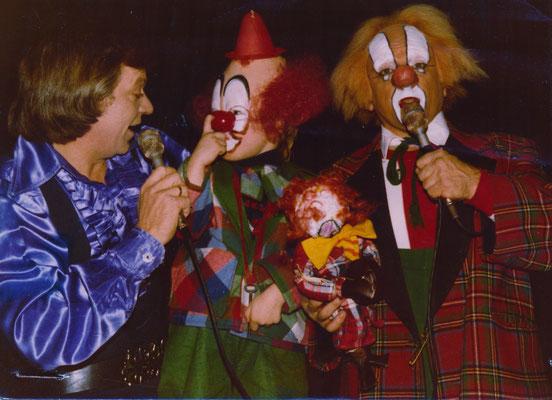 Dennis Veenman bij de voorstelling in 1979