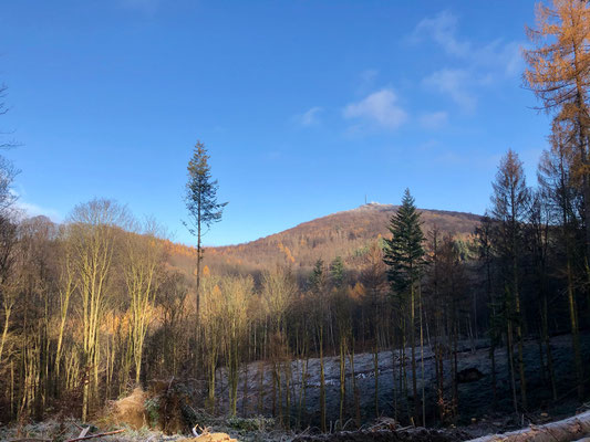 Blick zum Großen Oelberg