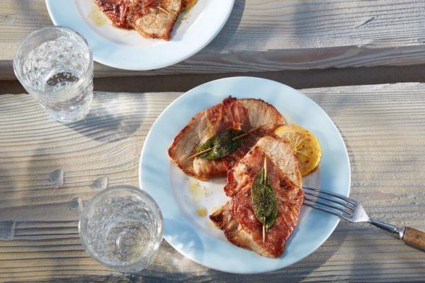 Saltimbocca vom Schwein - Fleischerei Bechtel - Rezepte
