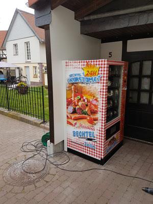 Fleischerei Bechtel - Wurstautomat - 24h einkaufen