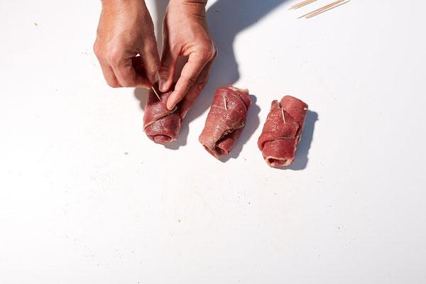 Spanische Rouladen - Fleischerei Bechtel - Rezepte
