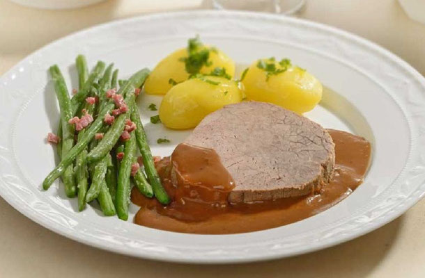 Rinderschmorbraten - Fleischerei Bechtel - Rezepte