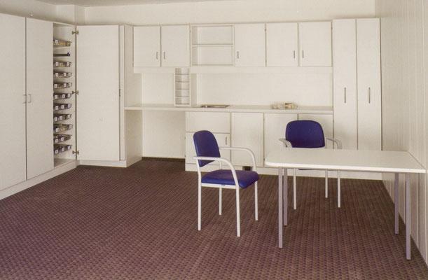 Sozial- und Aufenthaltsräume der Mitarbeiter werden je nach Bedarf individuell ausgeführt
