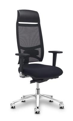 Chefstuhl in hoher Qualität (lieferbar in Stoff und Leder)