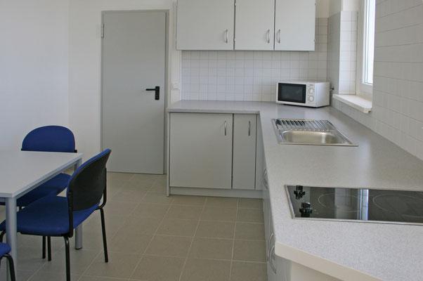 Küchenzeile in einem Seniorenheim