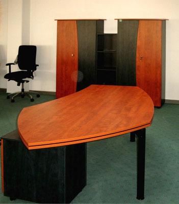 Arbeitszimmer mit Freiformtisch