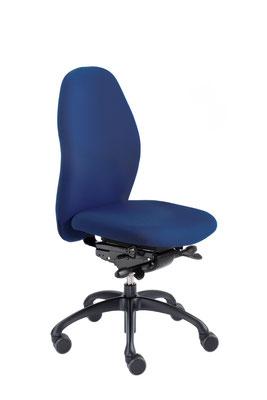 Ergonomischer Bürodrehstuhl mit dynamisch beweglicher Sitzfläche