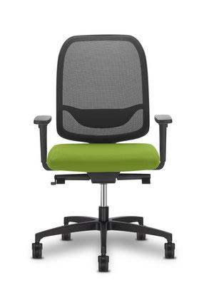 Hochwertiger preisgünstiger Markenstuhl mit Sitzbezug grün