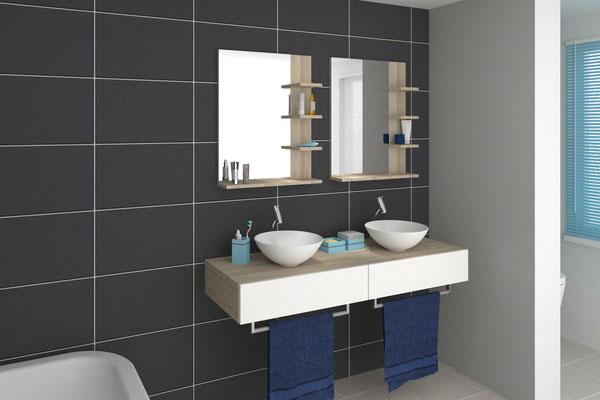 Individuelle Badgestaltung - Lieferbar in jeder anderen Abmessung, Ausführung und Oberfläche