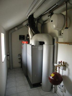 Plusenergie-/Passivhaus Willanzheim - Technikraum