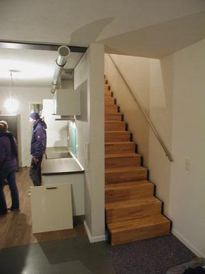 Passivhaus Rödelsee mit offenem Küchenbereich