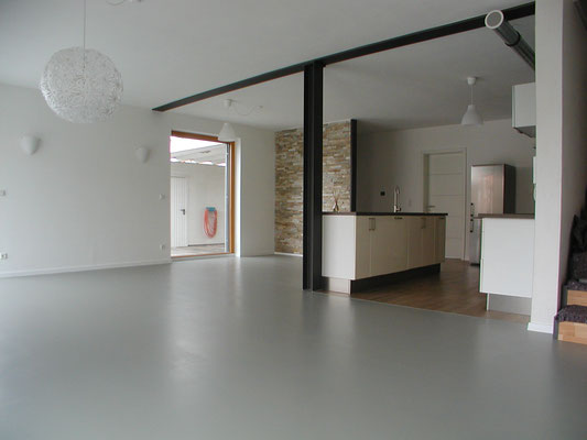 Passivhaus Rödelsee - Wohn-Ess-Bereich