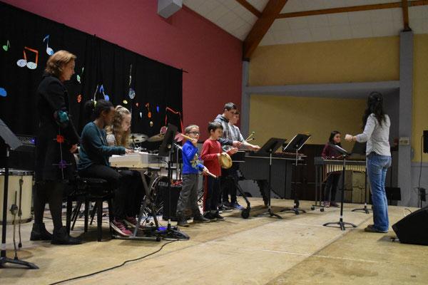 Percussions - piano