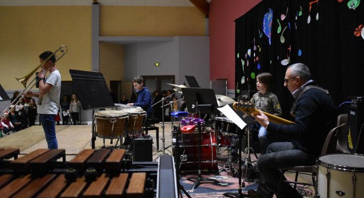 Trombone - piano - batterie