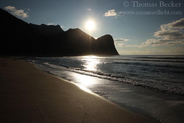 Der Strand bei Unstad.