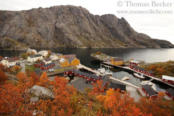Der Ort Nusfjord.