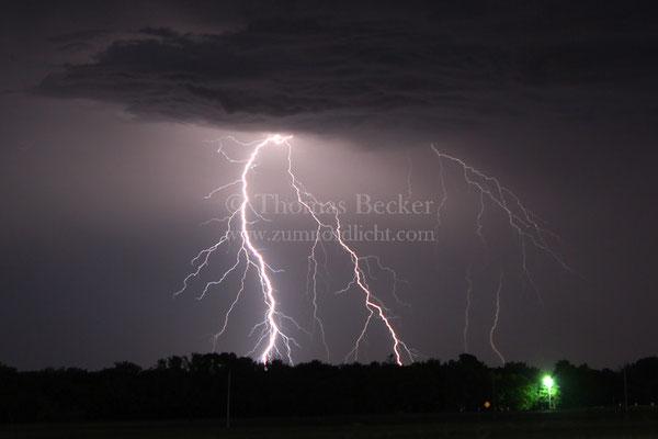 Blitzeinschlag nahe Oklahoma City - G34