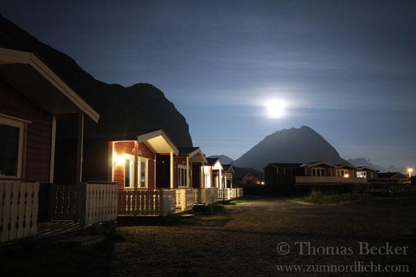 Mondscheinnacht in Ramberg.