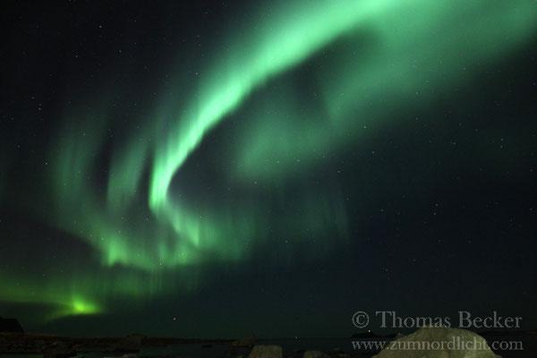 Großartige Nordlichter.