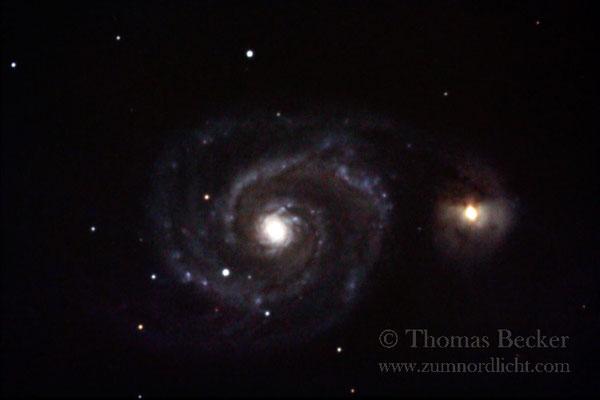 Wechselwirkende Galaxien M52 - A41