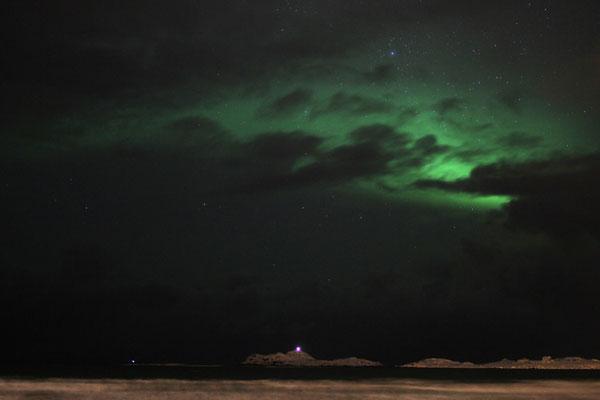 Schwaches Polarlicht