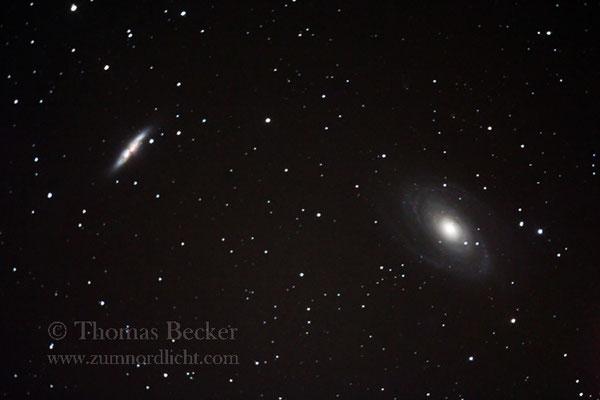 Das Galaxienduo Messier 81/82 - A27