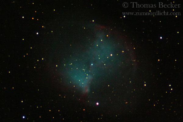 Planetarischer Nebel M27 (Hantelnebel) - A60
