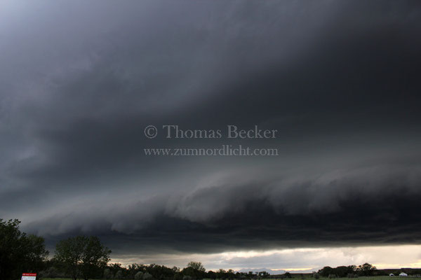 Gewitter mit Shelfcloud In den USA - G29
